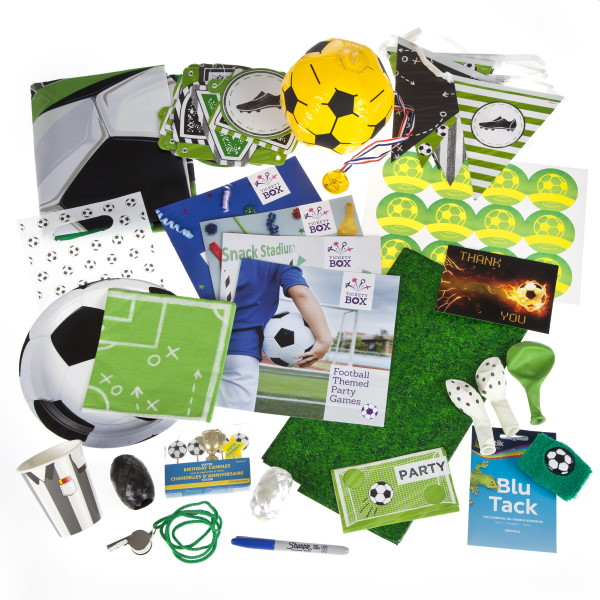 Football party box contents